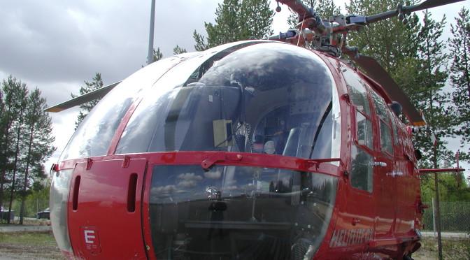 BO105 CBS – sammutus- etsintä- ja pelastushelikopteri